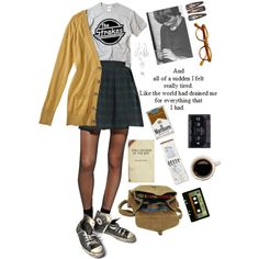 """Last night"" by live-free-clothes on Polyvore /// Lovely set."