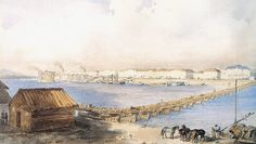 Városnéző séta a forradalom Pest-Budáján Painting, Painting Art, Paintings, Painted Canvas, Drawings