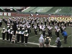Pretty sweet! I do miss the awesome marching bands from back east. HEMPFIELD SPARTAN MARCHING BAND for sure!