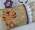 Live Love Meow - Cross Stitch Pattern
