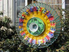 Glass Garden Flower by TheEverlastingGarden on Etsy, $35.00