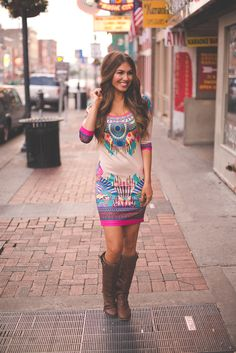 Dottie Couture Boutique - Tribal Bodycon Dress, $48.00 (http://www.dottiecouture.com/tribal-bodycon-dress/)