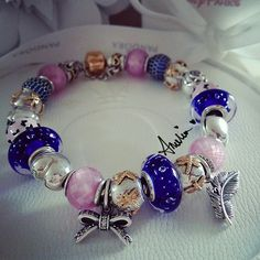 Pandora bracelet. Браслет знаменитой пандороманки pandoraaddict73.