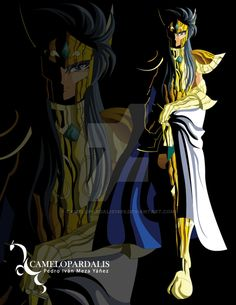 Una de las muy escasas ilustraciones de Saga con su casco