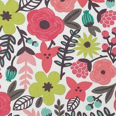 from british fabric company villa nova;  via printpattern
