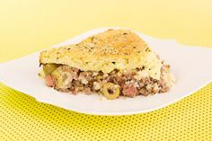 Torta de carne com massa de arroz e queijo, de liquidificador e muito gostosa. Você tem que fazer!