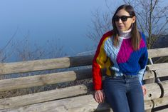 My colorful #look for the winter!