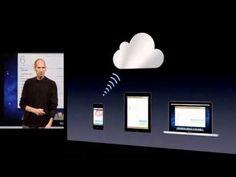Introducing the iCloud in his final keynote on June 6, 2011