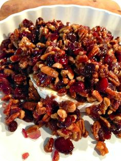 Going to a holiday party this is the only appetizer you need to make. Everyone will be begging for the recipe. Cranberry Pecan Baked Brie.