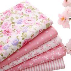 Fat Quarter Bundle - Pink Collection - Includes 5 Fat Quarters