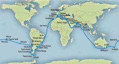 Krydstogt guide – Destinationer – Eventyrrejser - Jordomsejling