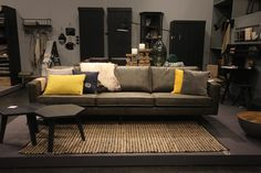 Sofa Rodeo in vintage army. New BePureHome collection 2016 - bepurehome.com…