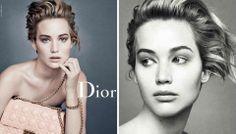 Nouvelles pubs de Dior mettant en vedette Jennifer Lawrence | Clin d'oeil