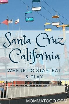 Santa Cruz California | California Vacation | California Road Trip |Santa Cruz Boardwalk | Things to do in California | Family Travel California | Family Vacation |Amusement Parks | Santa Cruz California Beaches | California Travel with Kids #California #SantaCruz #Travel #FamilyTravel