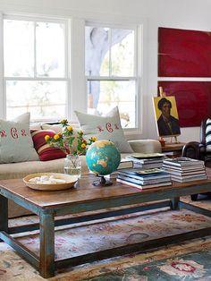 Ideas para combinar elementos #vintage y modernos en la #decoracion