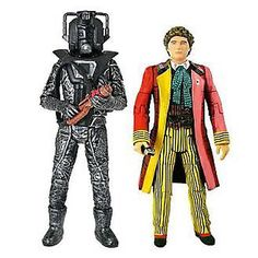 "Doctor who - 6th doctor & #stealth cyberman 6"" #action figure #2-pack #new,  View more on the LINK: 	http://www.zeppy.io/product/gb/2/171922887154/"