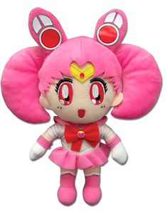 Sailor Mini / Chibi Moon Plushie http://www.moonkitty.net/reviews-buy-sailor-moon-plushies-toys.php #SailorMoon