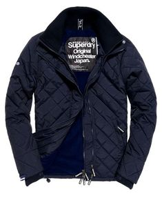 Superdry Quilted Arctic Windcheater Jacket Navy