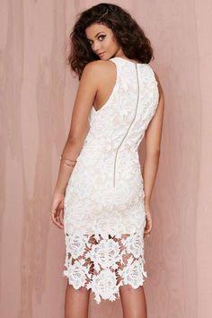 Keepsake I Will Wait Lace Dress - Dresses