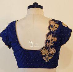 Blouse Back Neck Designs, Cutwork Blouse Designs, Hand Work Blouse Design, Simple Blouse Designs, Embroidery Neck Designs, Stylish Blouse Design, Saree Blouse Designs, Blouse Patterns, Hand Embroidery
