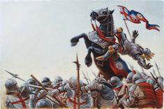 Battle of Bosworth Field 1485 Richard Iii, Uk History, History Timeline, British History, History Facts, Battle Of Bosworth Field, Military Drawings, Wars Of The Roses, Knights Templar