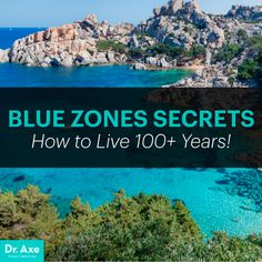 Blue Zones Secrets: How to Live Years - Dr. Axe People in the world's blue zones tend to live years. Learn the seven secrets to longevity and health from the way people in the blue zones live. Blue Zones Recipes, Zone Recipes, Vegan Recipes, Zone Diet, Bone Loss, Dr Axe, Healthy Aging, Healthy Foods