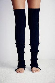 3eee01b4b9a Slouchy Thigh High Pirouette Leg Warmer