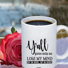 Mind Up, Lose My Mind, Cool Kitchen Gadgets, Cool Kitchens, Funny Cups, Funny Coffee Mugs, Losing Me, Cool Gifts, Coffee Lovers