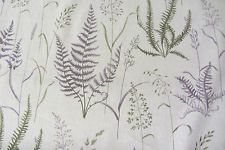 French Linen Forest Fern  Curtain/Craft Fabric