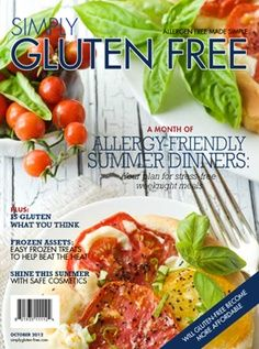 A new resource for gluten-free and allergen free recipes
