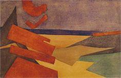 Dorothy ShakespearSans titre / UntitledAquarelle sur papier / Watercolour on paper14 x 21 cmVers / Circa 1914 - 1915