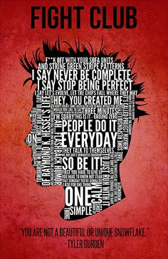 Nice Fight Club creed (source: Typography Tyler Durden Design Art Print by Adam Grey Tyler Durden, Typographic Poster, Typography, Fight Club Quotes, Fight Club 1999, Fight Club Jack, Pochette Cd, Marla Singer, Iconic Movie Posters