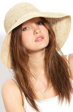 Helen Kaminski 'Provence 12' Packable Raffia Hat available at #Nordstrom