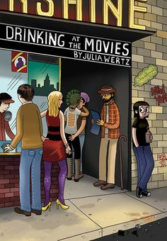 Drinking at the Movies fancy package by JuliaWertz on Etsy, $45.00