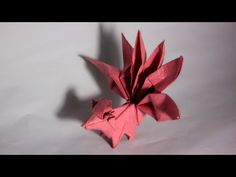 How to make an origami pokemon - Vulpix (Henry Phạm) - YouTube