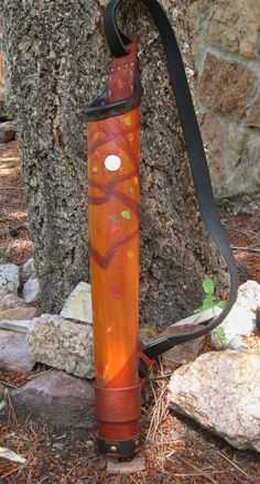 Hearts wisdom  - etched quiver in leather - custom order STYLE EXAMPLE ONLY - down payment listing. $200.00, via Etsy.