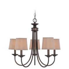 "Spencer Bronze Five Light Chandelier  -  I get a Trade Price on this if I order it  $156.24   HOWEVER, the dimensions are odd (ie 12"" wide??) so I've placed an inquiry with customer service."