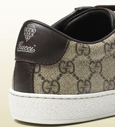 brooklyn GG supreme canvas sneaker