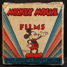 Vintage 1940's 8mm Disney Mickey Mouse Film #1518-A titled Full Steam Ahead