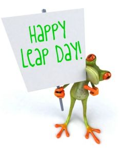 Today is a leap day — an occasion so special it only happens every four Leap Day Quotes, Year Quotes, Most Common Birthday, Happy Leap Day, Magic School Bus, Groundhog Day, Happy Quotes, Happy Birthday, Birthday Wishes