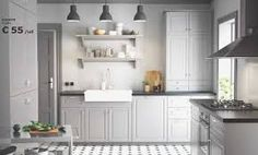 Cuisine Ikea : A traditional kitchen for modern life. A traditional kitchen for modern life. Ikea Small Kitchen, Ikea Kitchen Design, Ikea Kitchen Cabinets, New Kitchen, Kitchen Decor, Tasty Kitchen, Kitchen Tips, Kitchen Storage, Kitchen Worktops