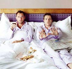 Jude Law and Ewan Mc Gregor