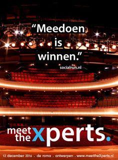 """""""Meedoen is winnen."""" - Socialrun"""