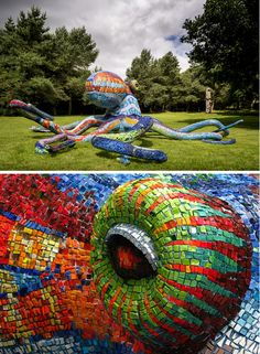 Marialuisa Tadei-----polonis APHRODISIA Marialuisa Tadei  http://www.pinterest.com/aaphrodisia/tentacles/ #sculpture #tentacles #Octopus