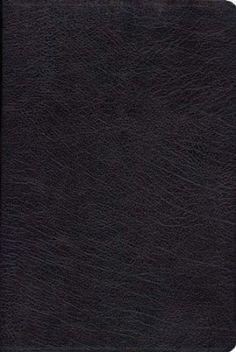 The KJV Henry Morris Study Bible, Genuine Leather, black