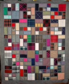 T-Scrappy Wools by Linda Rotz Miller Quilts & Quilt Tops, via Flickr
