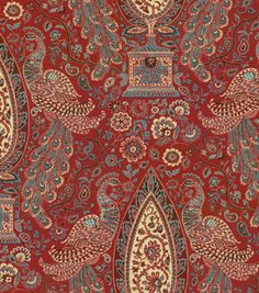 Home Decor Print Fabric-Waverly Jewel Tower/Currant