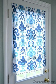 This easy, no-sew curtain will have your window covered in no time.