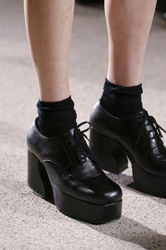 931262bdf186 (1940s) retro goth - Comme des Garcons Ankle Boots