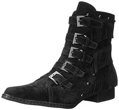 GIMMEE ALL THEM BUCKLES /// Penny Loves Kenny Women's Swish Western Boot, Black, 8.5 M US Penny Loves Kenny http://smile.amazon.com/dp/B00YG8CF8C/ref=cm_sw_r_pi_dp_iQC2wb0CP49VD